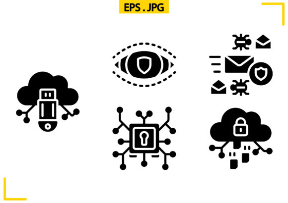Download Free Cyber Security Solid Graphic By Raraden655 Creative Fabrica for Cricut Explore, Silhouette and other cutting machines.