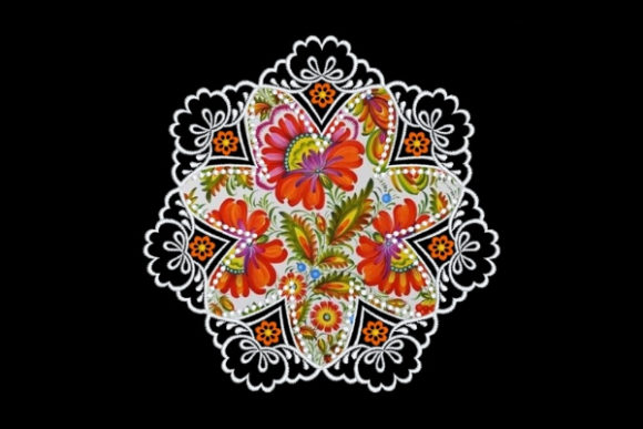 Floral Satin Applique Quilt Block Sewing & Crafts Embroidery Design By Ovistin in Africa - Image 1