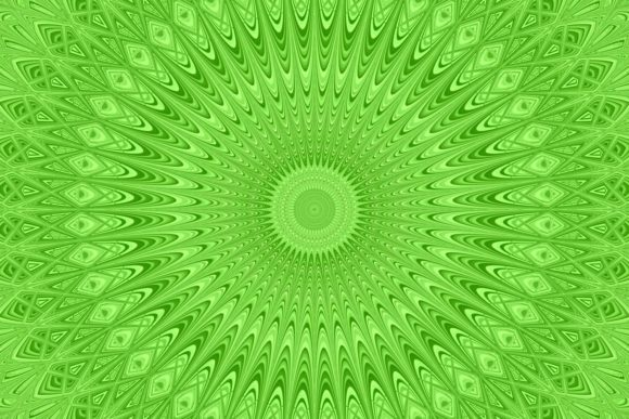 Download Free Green Circular Digital Art Backgroun Graphic By Davidzydd for Cricut Explore, Silhouette and other cutting machines.