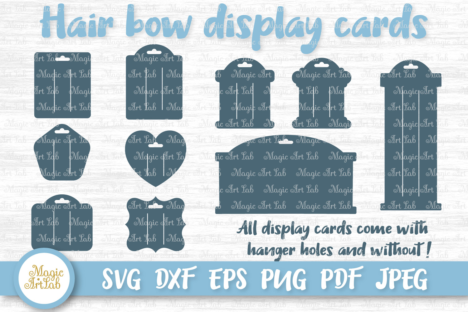 Download Free Hair Bow Cards Graphic By Magicartlab Creative Fabrica for Cricut Explore, Silhouette and other cutting machines.