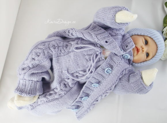 Hand Knitting Pattern - Baby Pants Graphic