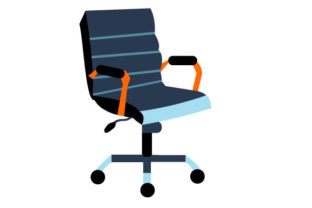 Illustration Of A Nice Office Chair Grafik Von Yapivector Creative Fabrica