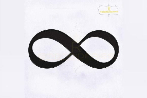 Infinity Symbol Religion & Faith Embroidery Design By RoyalEmbroideries - Image 1
