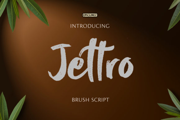 Print on Demand: Jettro Script & Handwritten Font By Epiclinez