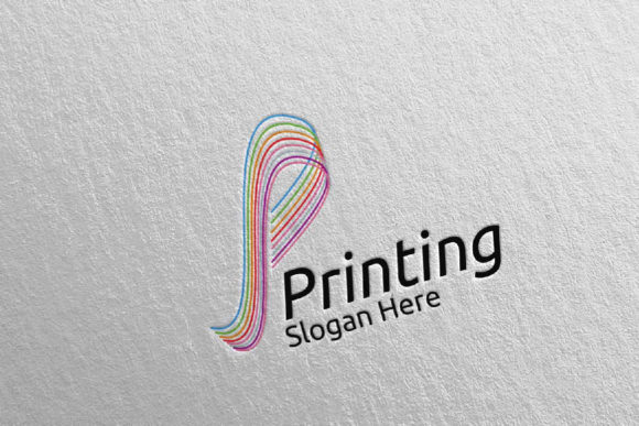 Letter P Printing Company Logo Design 44 Graphic Logos By denayunecf