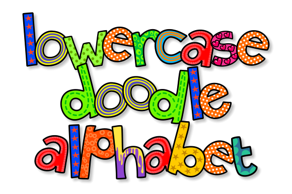 Print on Demand: Lowercase Doodle Alphabet Set 3 Graphic Illustrations By Prawny