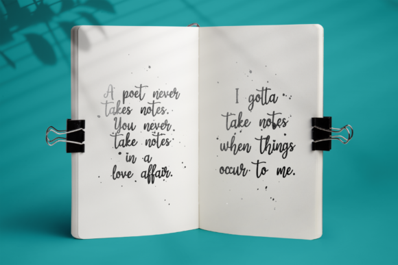 Print on Demand: Magic Love Script & Handwritten Font By LetterBeary - Image 5