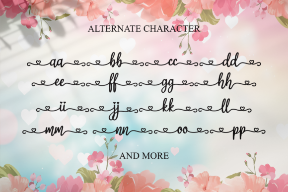 Print on Demand: Magic Love Script & Handwritten Font By LetterBeary - Image 7