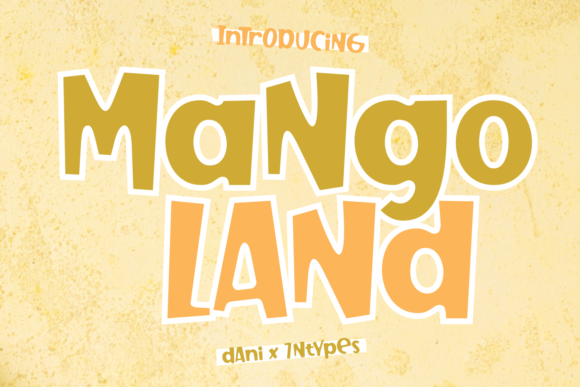Print on Demand: Mango Land Display Font By Dani (7NTypes)