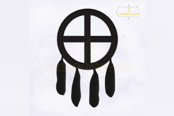 Medicine Wheel Symbol Religion & Faith Embroidery Design By RoyalEmbroideries