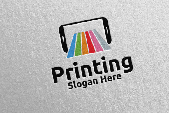 Mobile Printing Company Logo Design 48 Graphic Logos By denayunecf