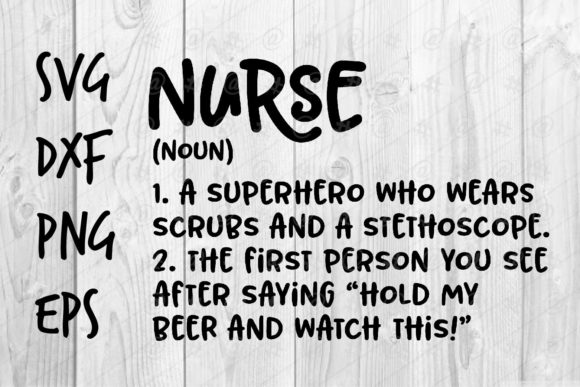 Nurse 11 Graphic Crafts By spoonyprint