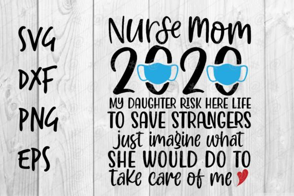 Download Free Nurse Mom Graphic By Spoonyprint Creative Fabrica for Cricut Explore, Silhouette and other cutting machines.