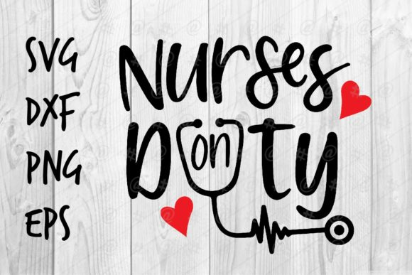 Download Free Nurses On Duty Graphic By Spoonyprint Creative Fabrica for Cricut Explore, Silhouette and other cutting machines.