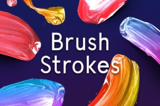 Paint Brush Strokes Graphic Illustrations By krisjanis