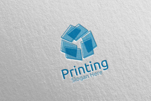Paper Printing Company Logo Design 37 Graphic Logos By denayunecf
