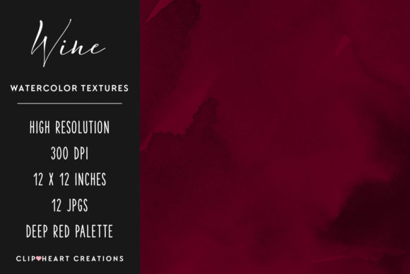 Download Free Red Wine Watercolor Digital Papers Graphic By Clipheartcreations for Cricut Explore, Silhouette and other cutting machines.