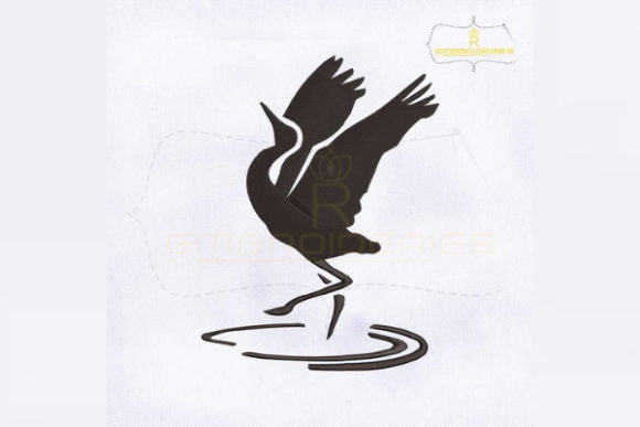 Download Free Sandhill Crane Symbol Creative Fabrica for Cricut Explore, Silhouette and other cutting machines.