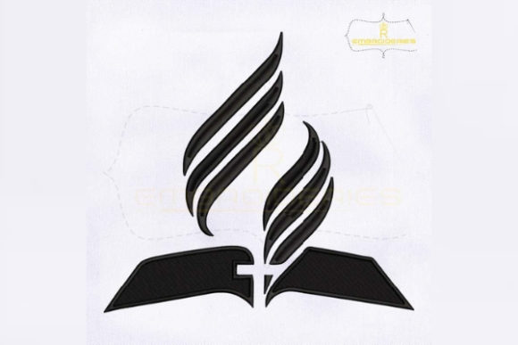 Seventh Day Adventist Church Religion & Faith Embroidery Design By RoyalEmbroideries