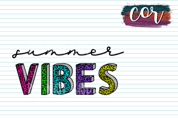 Print on Demand: Summer Vibes Graphic Crafts By designscor