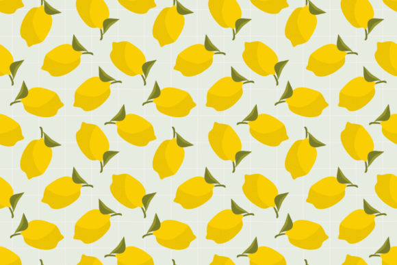 Download Free Summer Lemon Seamless Pattern Graphic By Thanaporn Pinp for Cricut Explore, Silhouette and other cutting machines.