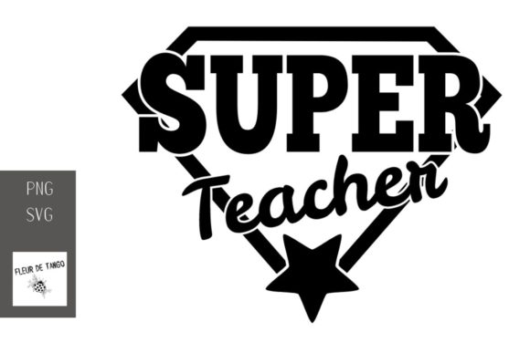 Print on Demand: Super Teacher Graphic Crafts By Fleur de Tango