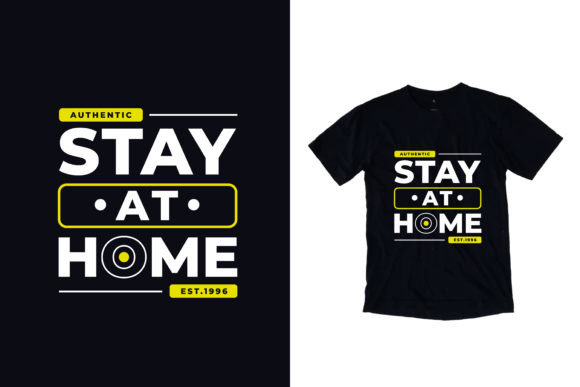 Download Free T Shirt Stay At Home Quotes Graphic By Yazriltri Creative Fabrica for Cricut Explore, Silhouette and other cutting machines.
