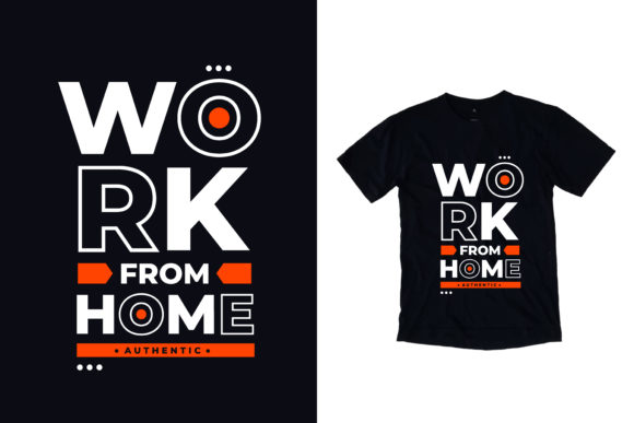 Download Free T Shirt Work From Home Quotes Graphic By Yazriltri Creative for Cricut Explore, Silhouette and other cutting machines.