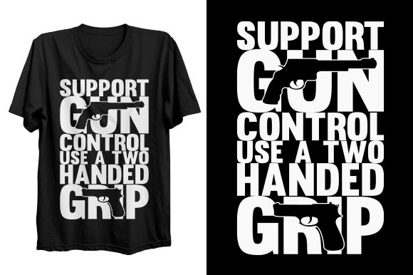 Print on Demand: Typography T-shirt Design Graphic Print Templates By Graphicflow