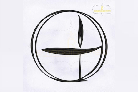 Unitarian Symbol Religion & Faith Embroidery Design By RoyalEmbroideries