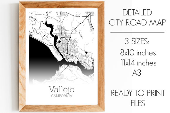 Download Free Vallejo California City Map Graphic By Svgexpress Creative Fabrica for Cricut Explore, Silhouette and other cutting machines.
