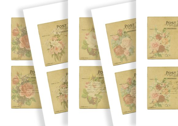 Download Free Vintage Floral Journaling Element Kit Graphic By Simply Paper SVG Cut Files