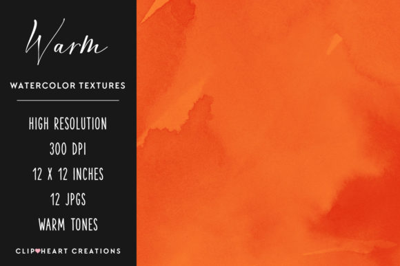 Download Free Warm Watercolor Digital Papers Graphic By Clipheartcreations for Cricut Explore, Silhouette and other cutting machines.
