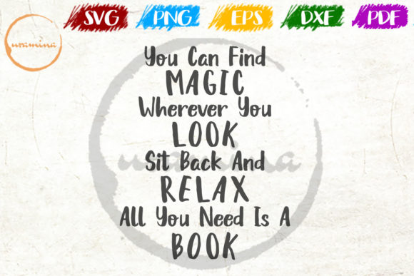 Download Free You Can Find Magic Wherever You Look Graphic By Uramina for Cricut Explore, Silhouette and other cutting machines.