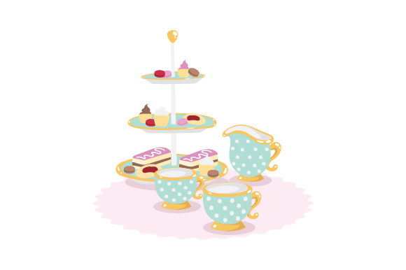 Download Free High Tea Svg Cut File By Creative Fabrica Crafts Creative Fabrica for Cricut Explore, Silhouette and other cutting machines.