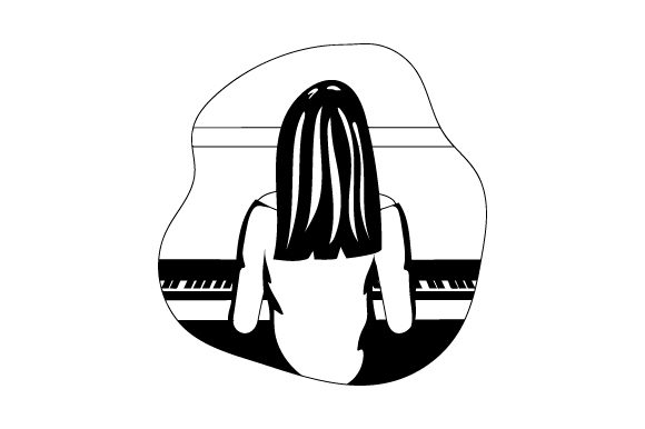 Download Free Pianist Svg Cut File By Creative Fabrica Crafts Creative Fabrica for Cricut Explore, Silhouette and other cutting machines.