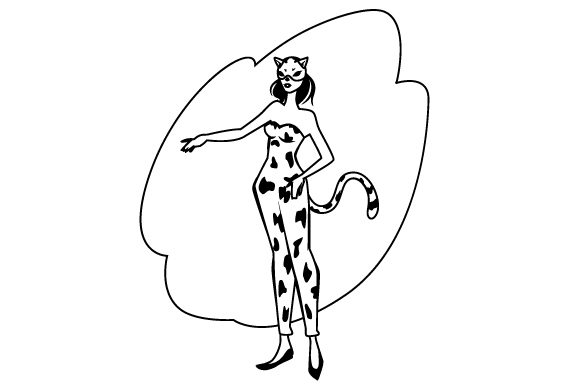 Download Free Cheetah Costume Svg Cut File By Creative Fabrica Crafts for Cricut Explore, Silhouette and other cutting machines.