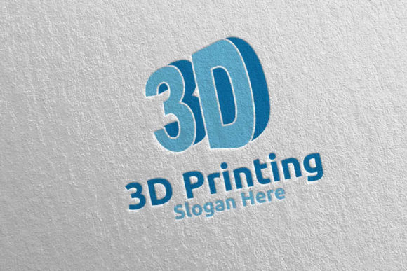 3D Printing Company Logo Design 52 Graphic Logos By denayunecf