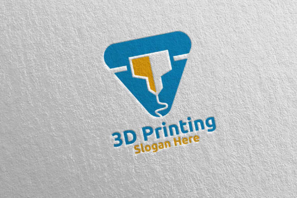 3D Printing Company Logo Design 53 Graphic Logos By denayunecf