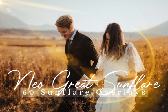 Download Free 60 Neo Great Sunflare Effect Photo Overlays Graphic By 3motional for Cricut Explore, Silhouette and other cutting machines.
