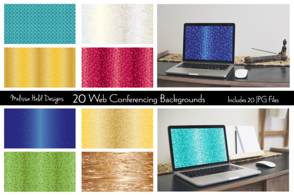 Abstract Conferencing Backgrounds Graphic Backgrounds By Melissa Held Designs