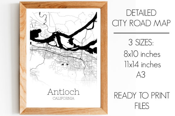 Download Free Antioch California City Map Graphic By Svgexpress Creative Fabrica for Cricut Explore, Silhouette and other cutting machines.