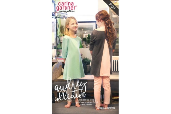 Audrey Collection - Girls/Teens Style 2 Sewing Pattern Graphic Sewing Patterns By carina2