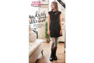 Audrey Collection - Girls/Teens Style 3 Sewing Pattern Graphic Sewing Patterns By carina2