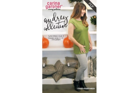 Audrey Collection - Misses Style 3 Sewing Pattern Graphic Sewing Patterns By carina2