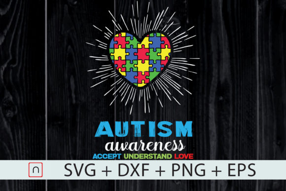 Download Free Autism Awareness Autism Cricut Graphic By Novalia Creative Fabrica for Cricut Explore, Silhouette and other cutting machines.