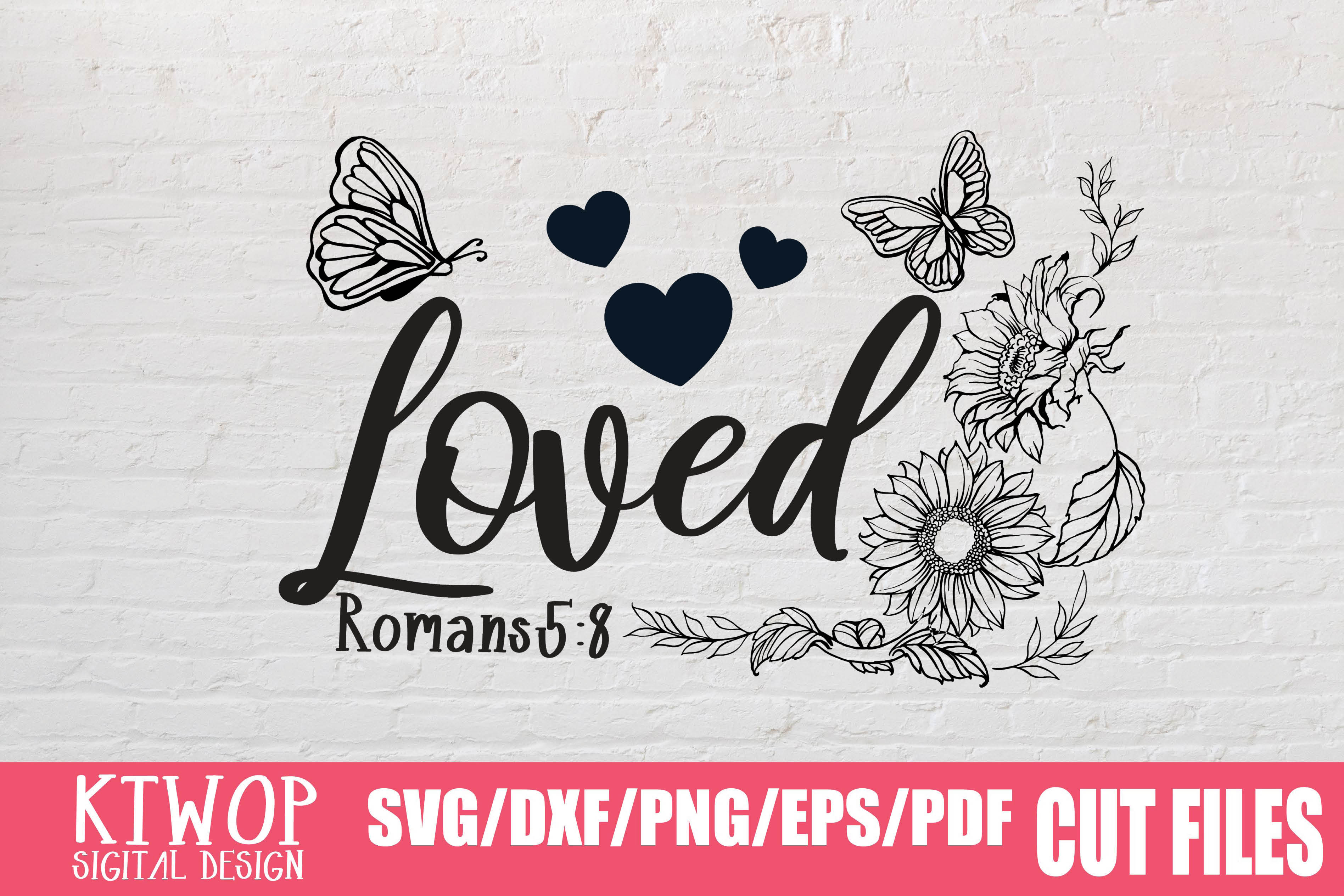 Download Free Loved Graphic By Ktwop Creative Fabrica for Cricut Explore, Silhouette and other cutting machines.
