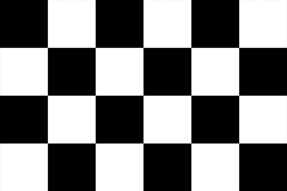 Print on Demand: Black Checkerboard Pattern Graphic Patterns By CliffviewGraphics
