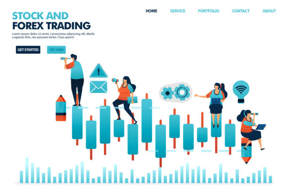 Download Free Candle Chart In Stock And Forex Trading Graphic By for Cricut Explore, Silhouette and other cutting machines.