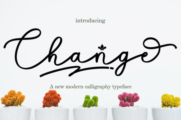 Print on Demand: Change Script & Handwritten Font By Greentype
